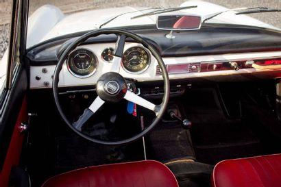 1966 FIAT 1500 Cabriolet Numéro de série 118K043735  Numéro moteur 115.000 - 149132...