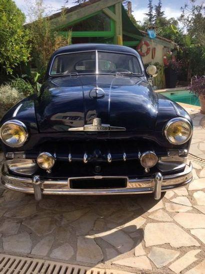 1950 FORD Vedette Coupé Numéro de série 21916  Très bel état de restauration  Même...