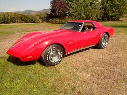 1974 CHEVROLET Corvette C3 454ci Cabriolet