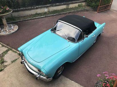 1960 SIMCA Aronde Océane Numéro de série 2780858  Carrosserie Facel  Carte grise...