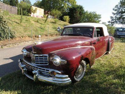 1947 LINCOLN V12 Convertible