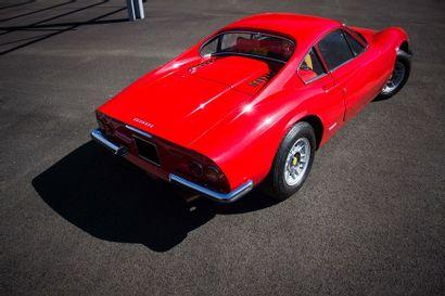 1975 FERRARI Dino 246 GT Numéro de série 006620  Livrée neuve par Charles Pozzi  Historique...