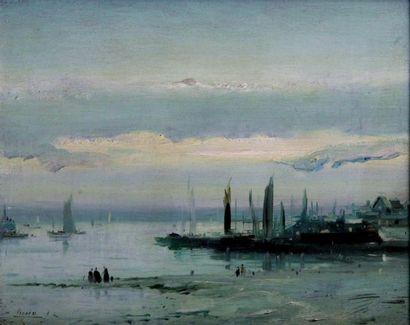 EUGENE GALIEN-LALOUE 1854-1941. Le port de...