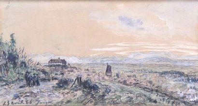 JOHAN-BARTHOLD JONGKIND 1819-1891. La route...