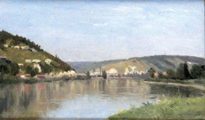 STANISLAS LEPINE 1835- 1892. La Seine en...