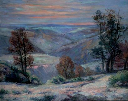 ARMAND GUILLAUMIN 1841-1927. Le Puy Barriou...