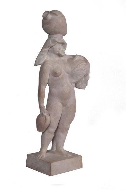 PABLO GARGALLO 1881-1934. La porteuse d'eau...