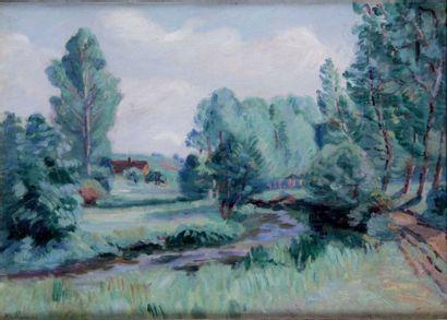ARMAND GUILLAUMIN 1841-1927. Paysage près...