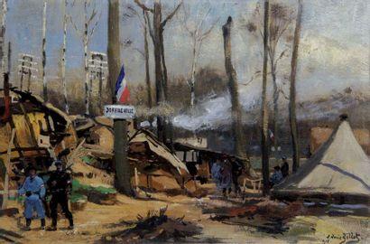 EUGÈNE LOUIS GILLOT 1867-1925. « Joffreuille...