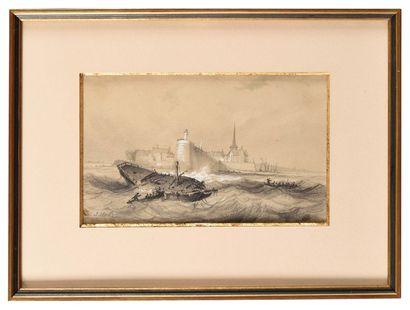 Jules Achille NOËL (1810-1881) Saint-Nazaire...
