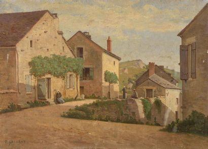 Prosper GALERNE (1836-1922) Meursault, Cote...
