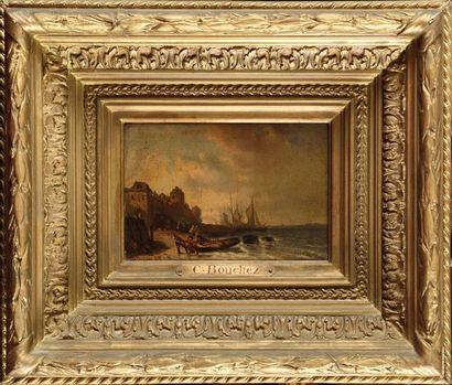 Charles BOUCHEZ (1811-1882) L'arrivée au...