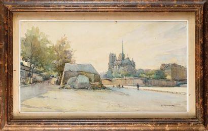 Nicolas MARKOVITCH (1894-1964) Notre-Dame...