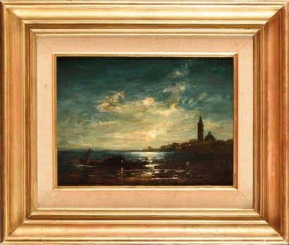 Felix ZIEM (1821-1911) San Giorgio, la nuit...