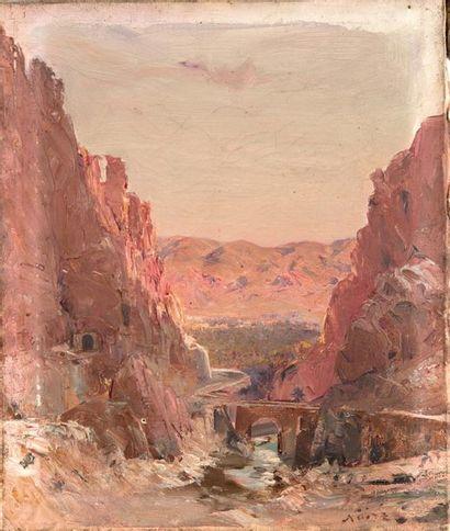 Maxime NOIRÉ (1861-1927) El Kantara, Les...