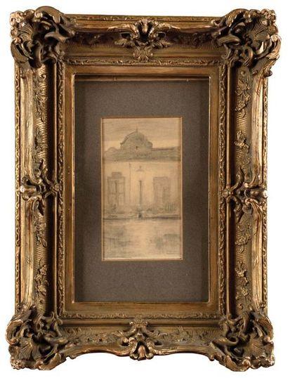 Henri LE SIDANER (1862-1939), atelier de...