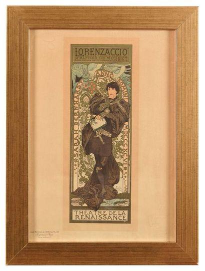 Alphonse MUCHA (1860-1939) Lorenzaccio Lithographie...