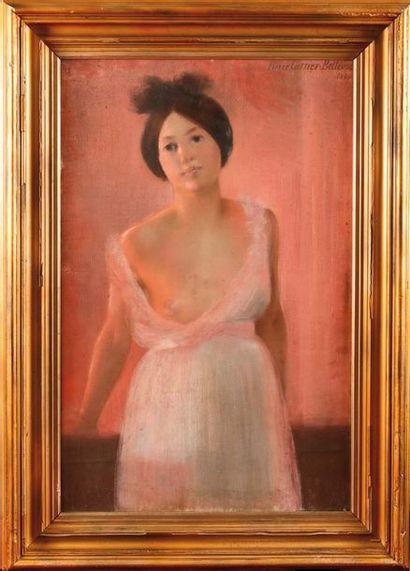 Pierre CARRIER-BELLEUSE (1851-1932) Femme...