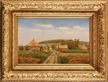 Antoine Eugène LAMBERT (1824-1903) Paysage...