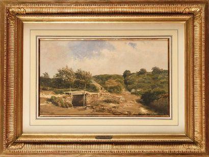 Jean-Henri CHOUPPE (1817-1894) Sur le chemin...