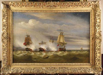 Raymond Eugène GOETHALS (1804-1864) « Bataille...