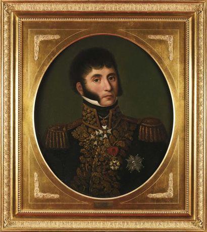 Ecole française du XIXe siècle. « Portrait...