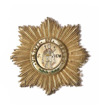 Marshal Louis Nicolas Davout. SAXE (Kingdom). MILITARY ORDER OF SAINT HENRI, created...