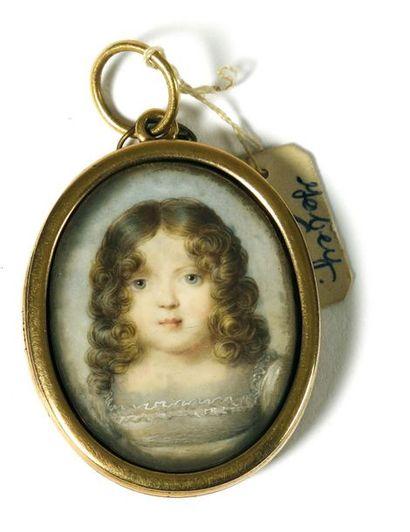 Jean Baptiste ISABEY (1767-1855). « Portrait...