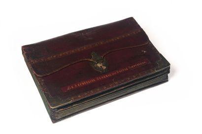 Grand portefeuille à soufflets de M. Louis...