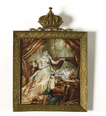Joseph FRANQUE (1774-1833), d'après « L'Impératrice...
