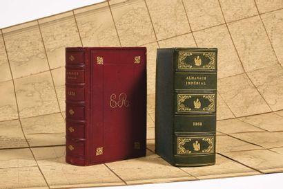 Deux almanachs impériaux du Second Empire...