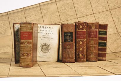 Deux almanachs impériaux du Premier Empire...