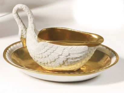 Paris (Samson) Tasse et sa soucoupe en porcelaine...