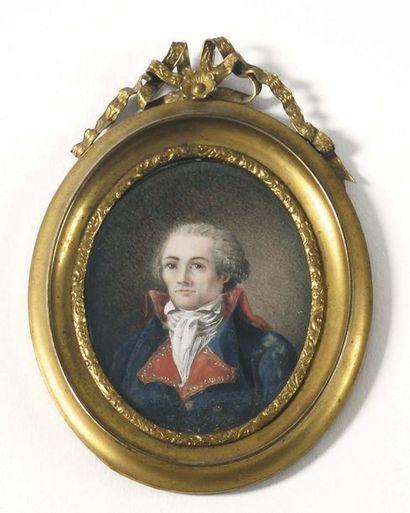 Ecole française de la fin du XVIIIe siècle....