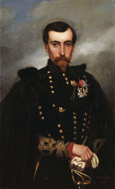 Ary-Arnold SCHEFFER (1839-1873) « Portrait...