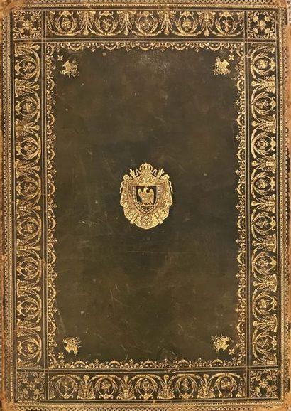 NAPOLEON III Grand recueil de gravures de...