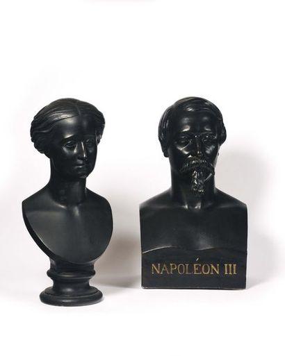 Auguste BARRE, d'après. « L'Empereur Napoléon...