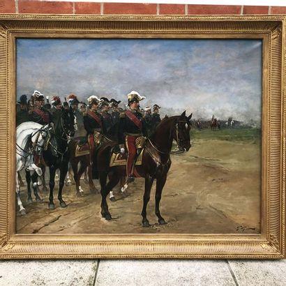 Georges-Louis HYON (né en 1840) Ecole française...