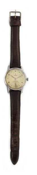 OMEGA vers 1950 Montre bracelet en acier,...