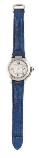Cartier « Pasha GMT » ref. 2377, vers 2000...