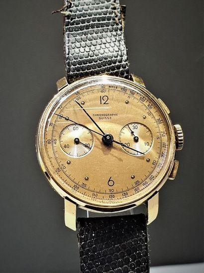 CHRONOGRAPHE SUISSE vers 1950 Chronographe...