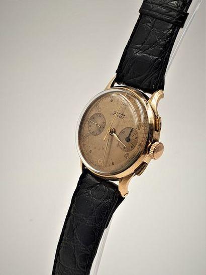 FLUDO, Chronomètre Suisse, circa 1950. Montre...