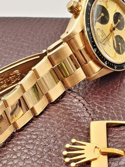 """ROLEX """" Cosmographe Daytona"""" ref.6265 vers 1978 Montre bracelet chronographe en..."""