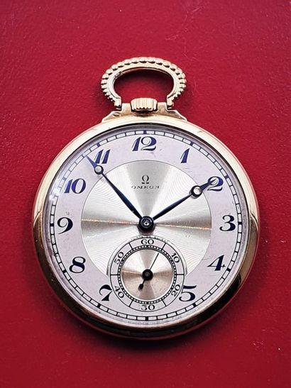OMEGA extra-plate, vers 1940 Elégante montre...