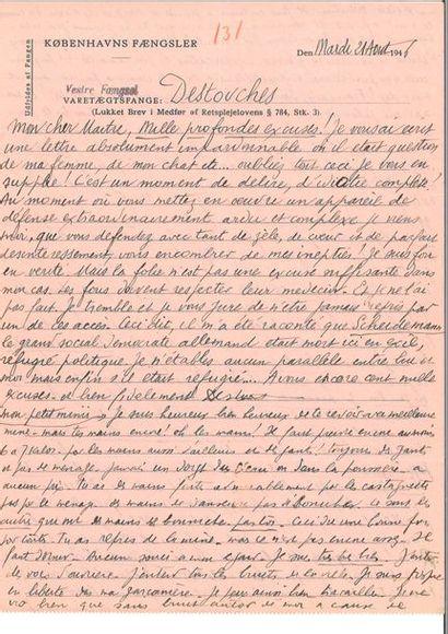 CÉLINE (Louis-Ferdinand Destouches dit Louis-Ferdinand)....