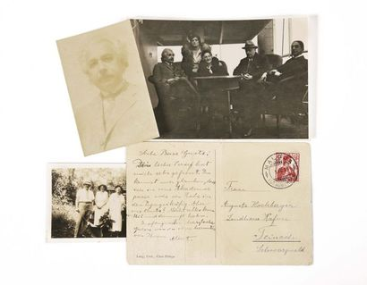 EINSTEIN (Albert). Carte autographe signée...