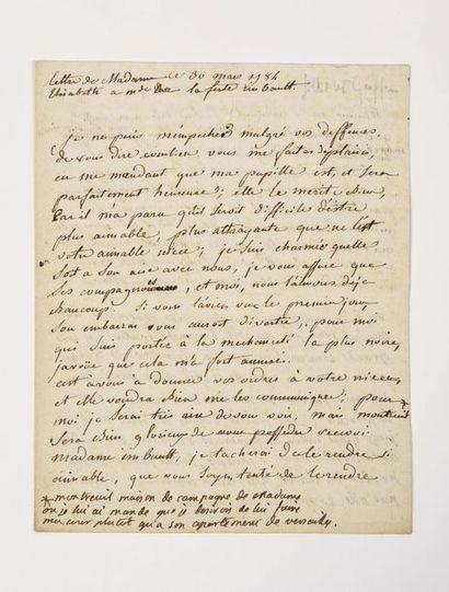 ÉLISABETH (Élisabeth de France, dite Madame)....