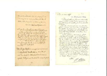 GÉRÔME (Jean-Léon). Lettre autographe signée...