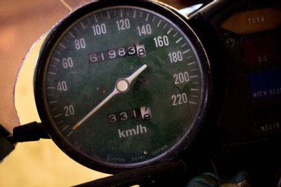 1976 HONDA GOLDWING 1000 GL Numéro de série GL1-2029191  A remettre en route  A immatriculer...