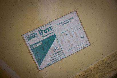 c1979 FLIPPER SANS PERMIS Numéro de série 01499  Modèle rare  A immatriculer en collection...